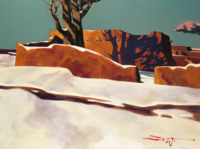 , 'Winter Shadows,' 2010, Blue Rain Gallery