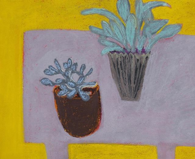 , 'Two Plants,' 2016, Susan Eley Fine Art
