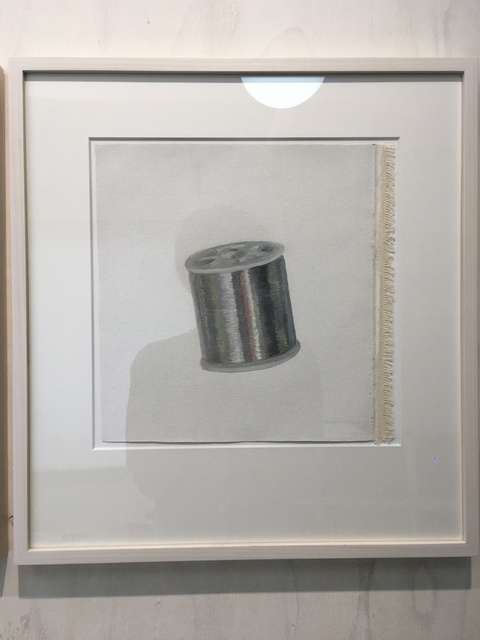 Yosuke Amemiya, 'Phantom Manuscripts (silver thread)', 2019, SNOW Contemporary