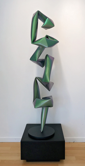 , 'Standing Object, Metallic Green,' 2018, Caldwell Snyder Gallery