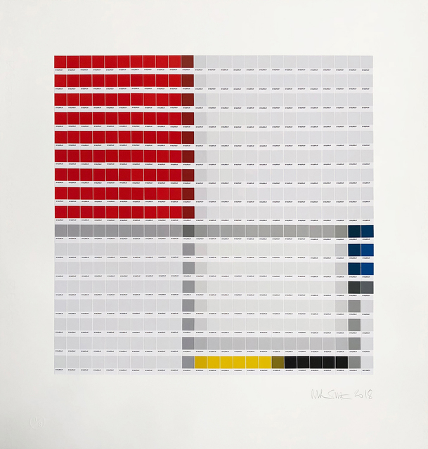 , 'Mondrian - Composition No. III,' 2018, Lawrence Alkin Gallery