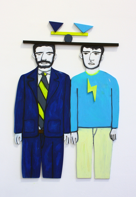 , 'Man and Boy ,' 2019, Daniel Benjamin Gallery