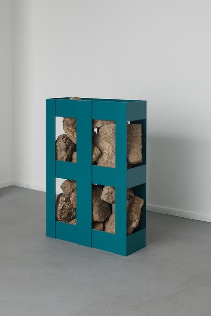 , 'Site/Specific/Pallet/Rock (Israel),' 2013, Dvir Gallery