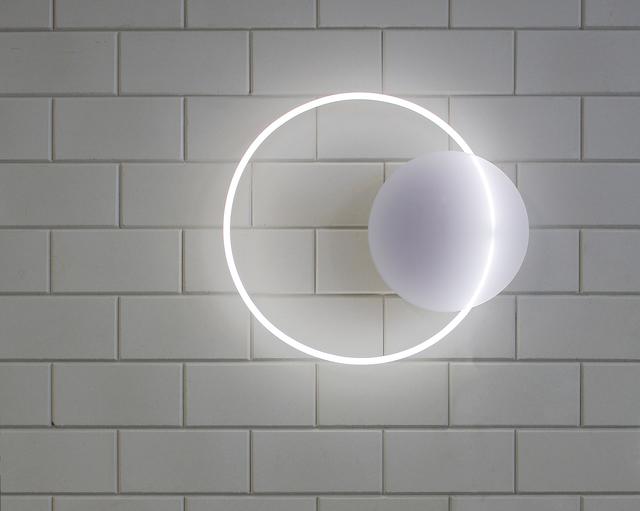 Sabine Marcelis, 'Voie Light Medium Hanging - White/ white neon', 2016, Etage Projects