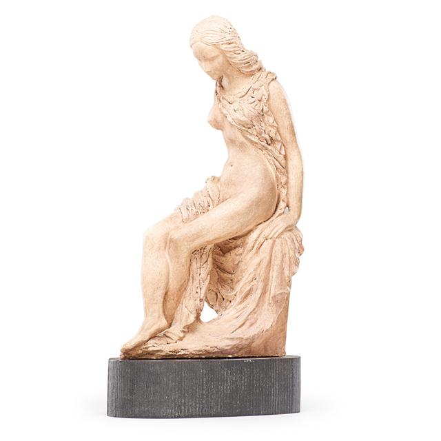 """Waylande Gregory, 'Unique sculpture, """"Seated Girl,"""" USA', ca. 1938-42, Rago"""