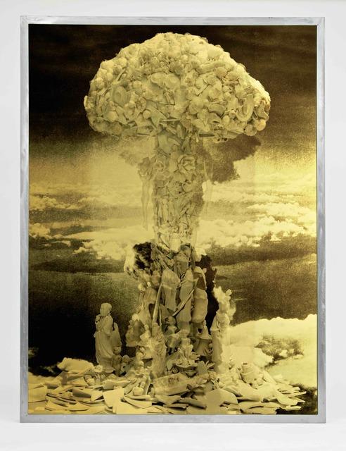 , 'Steel Mirror,' 2018, Galerie Ron Mandos