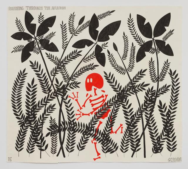 , 'Running through the Amazon,' 2015, Hans Alf Gallery
