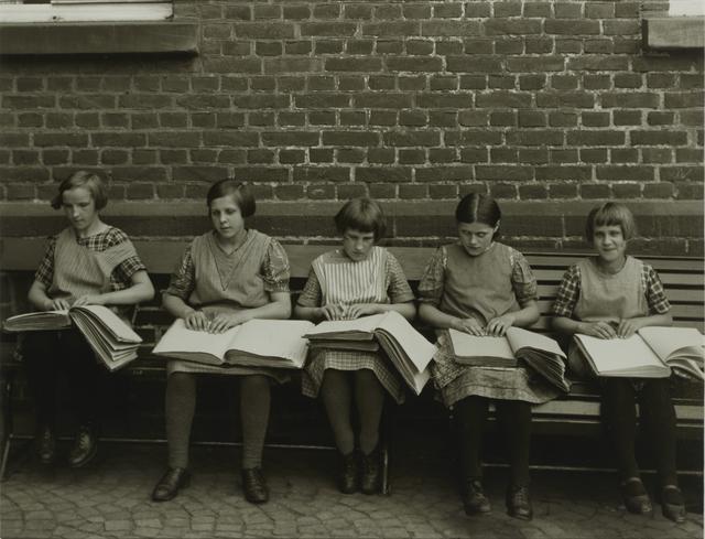 , 'Blind Children at their Lessons,' ca. 1930, Galerie Julian Sander