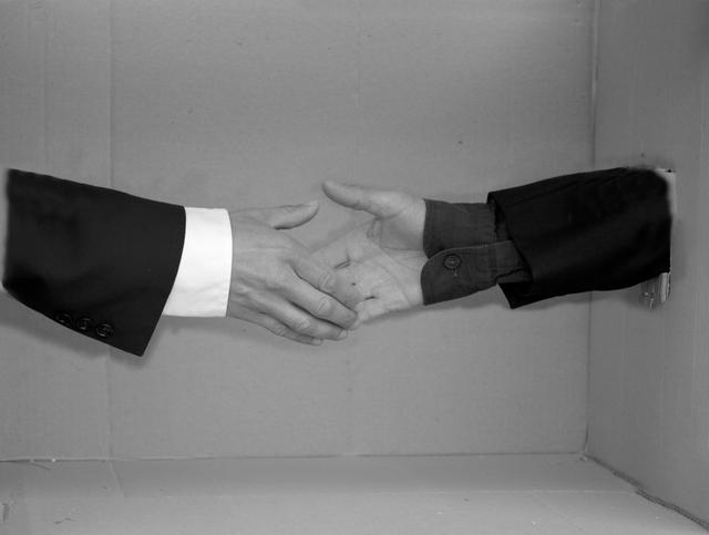 , 'Behauptungen part two - Trust in Lie,' 2011, Christinger De Mayo