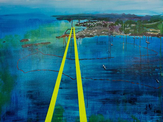 , 'Henoko Flight Path,' 2019, FLXST Contemporary