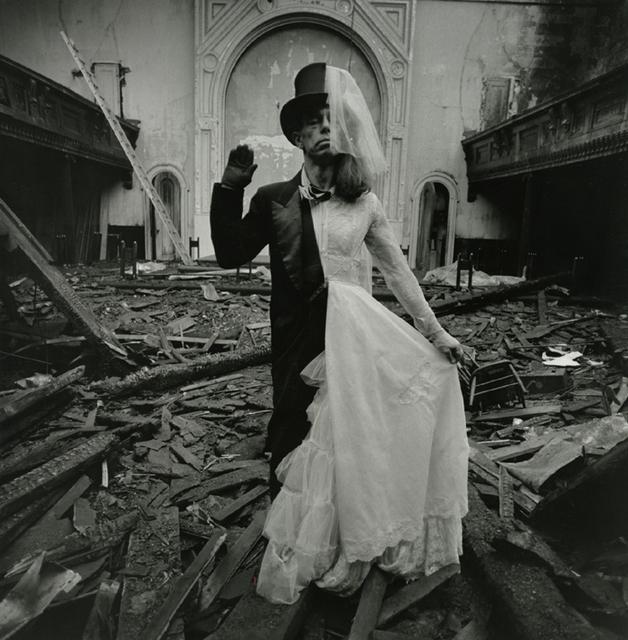 , 'Bride and Groom, N.Y.,' 1970, Be-hold