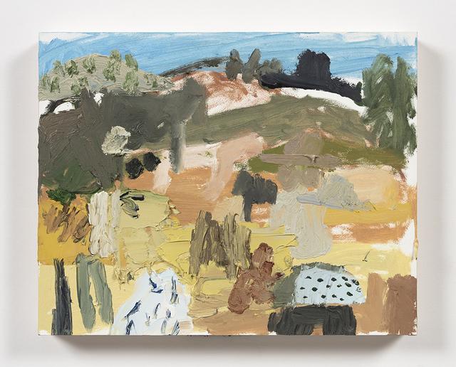 Mariel Capanna, 'Horses, Yucca, Hill, Hat', 2019, Steve Turner