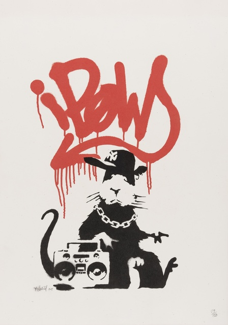 Banksy, 'Gangsta Rat', 2004, Forum Auctions