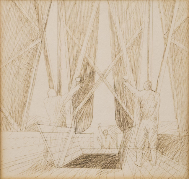 , 'Folly for Vintners in the Napa Valley. Ceremony,' 1980, Edward Cella Art and Architecture