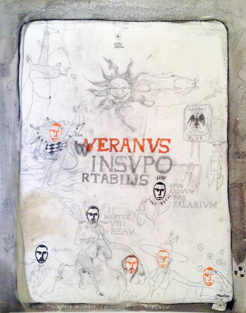 , 'Veranus Insuportabilis,' 2014, Galeria Emma Thomas