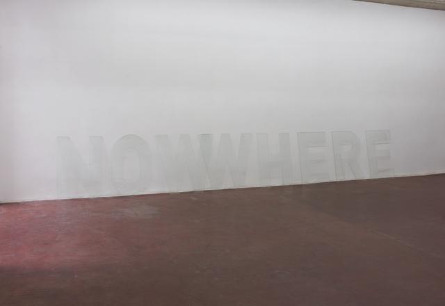 , 'NOWWHERE,' 2016, Dvir Gallery
