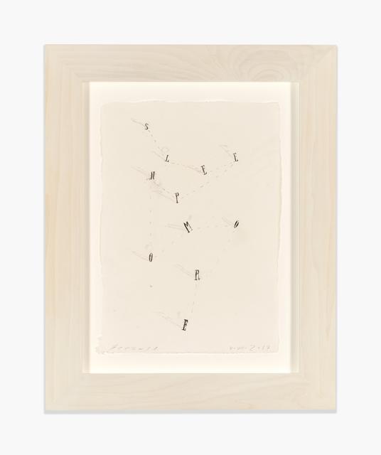 , 'Sleep No More II,' 2017, Richard Gray Gallery