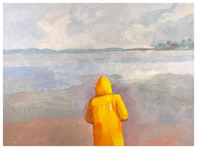 , 'Maine Grey: Yellow Jacket,' 2017, Betty Cuningham