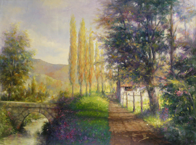 , 'Poplar's Pathway,' , The Loft Fine Art