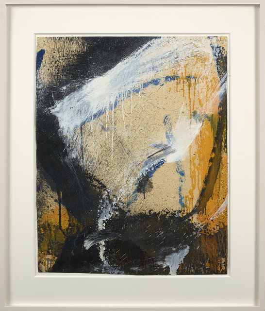 , 'Untitled / Yellow, White and Black,' 1961, Berry Campbell Gallery