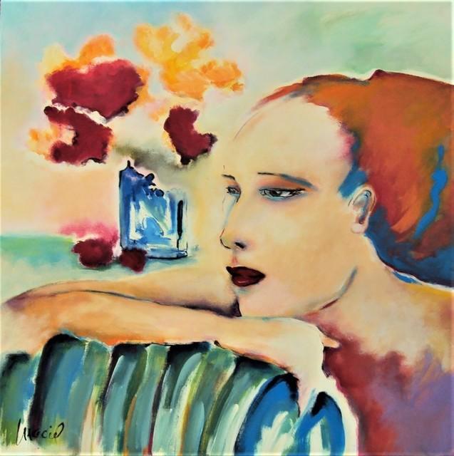 Nora Maciel, 'Nostalgia', Painting, Acrylic, Galleria Dante