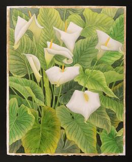 , 'Arum Lilies,' 2014, Gerald Peters Gallery