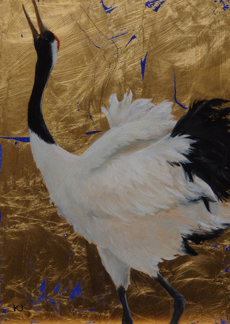 , 'Red Crowned Crane,' 2015, Addison/Ripley Fine Art