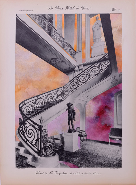 , 'The Vestibule and Staircase of Honor,' 2017, Jonathan Ferrara Gallery