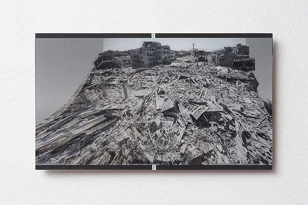 , 'Gaza Stripped Bare... (keepsake),' 2014, Dvir Gallery