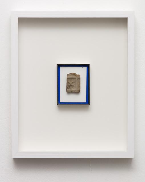, 'Tomrummet omkring et tilbageværende fragment (The void around a remaining fragment),' 2013-2018, Marie Kirkegaard Gallery