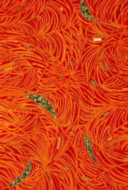 , 'Red Bug,' 1985, Pacita Abad Art Estate
