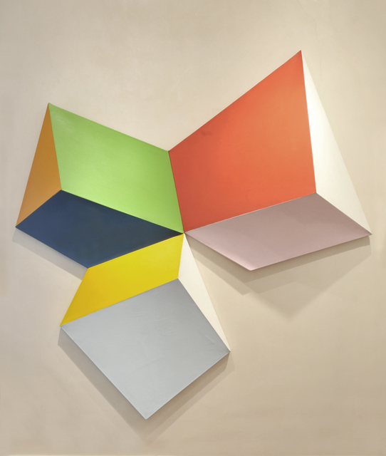 Charles Hinman, 'View Down, Across to the Left and Right   ', 1964, Painting, Acrylic on shaped canvas, Peyton Wright Gallery