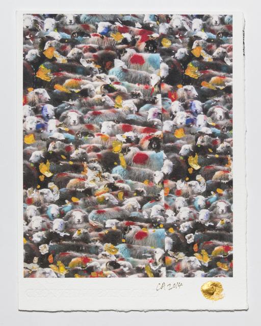 , 'The Golden Fleece: The Cumbrian Wallpaper,' 2011, Ronald Feldman Fine Arts