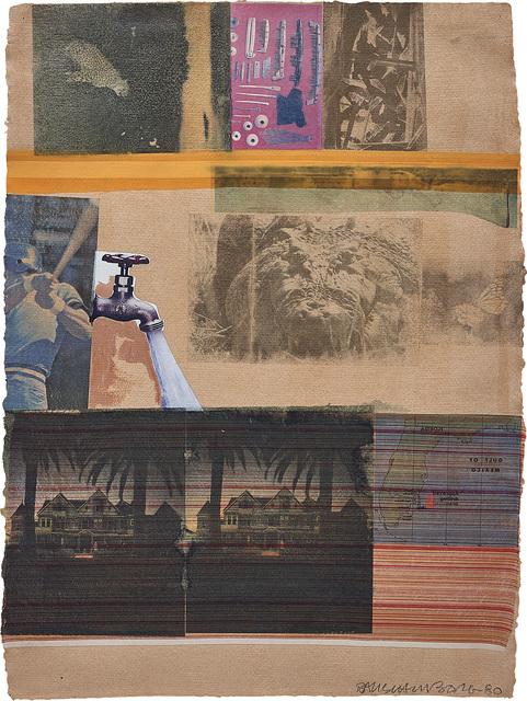Robert Rauschenberg, 'Tiller', 1980, Phillips