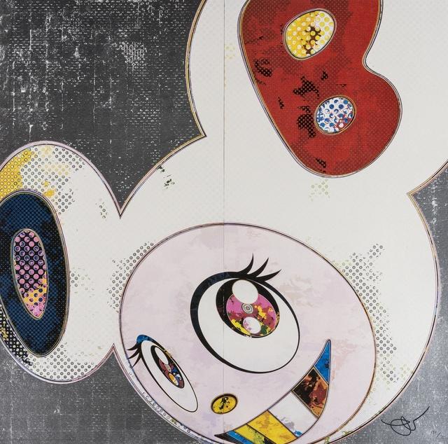 Takashi Murakami, 'DOB in Pure White Robe (Navy and Vermillion)', 2003, Forum Auctions