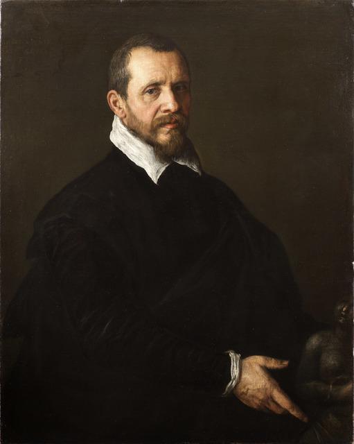 , 'Portrait of a Gentleman with a Sculpture,' ca. 1595, Robilant + Voena