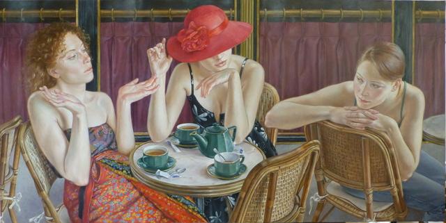 , 'Le the en terrasse,' 2015, Galerie de Bellefeuille