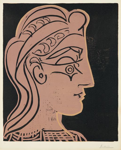 Pablo Picasso, 'Tête de femme (de profil) (Head of a Woman - in Profile)', 1959, Phillips