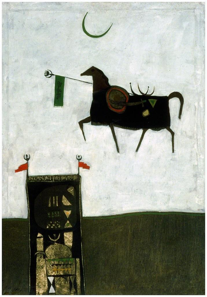Dia Azzawi, 'Folkloric Mythology,' 1966, Meem Gallery