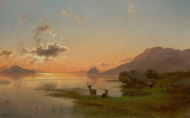 , 'Twilight,' 1876, Questroyal Fine Art