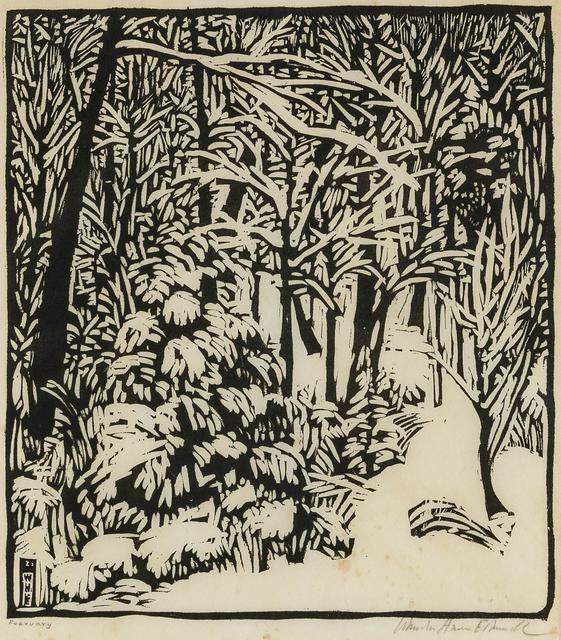 Wharton Esherick, 'February', John Moran Auctioneers