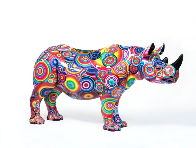 Rob and Nick Carter, 'Spectrum Rhino, 2018', 2018, Tusk Benefit Auction