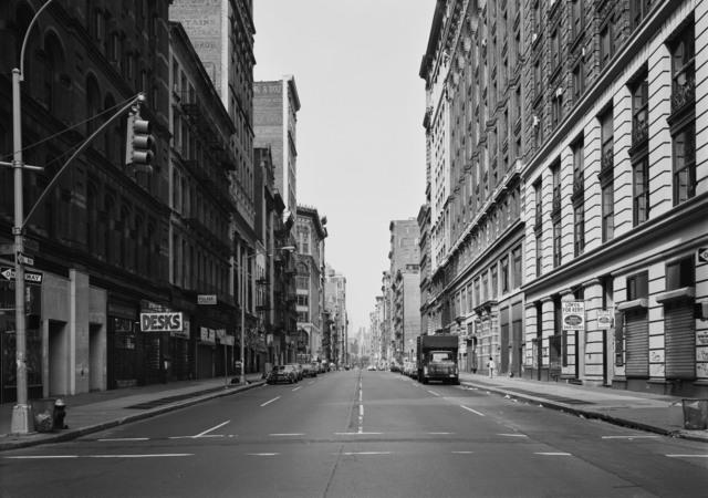 , 'Broadway at Prince Street, New York,' 1978, Marian Goodman Gallery