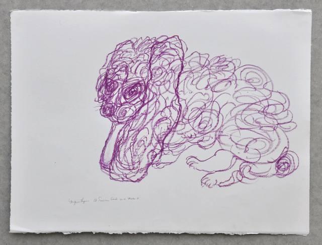 , 'Mignon Lapin Mauve,' 2016, IFAC Arts