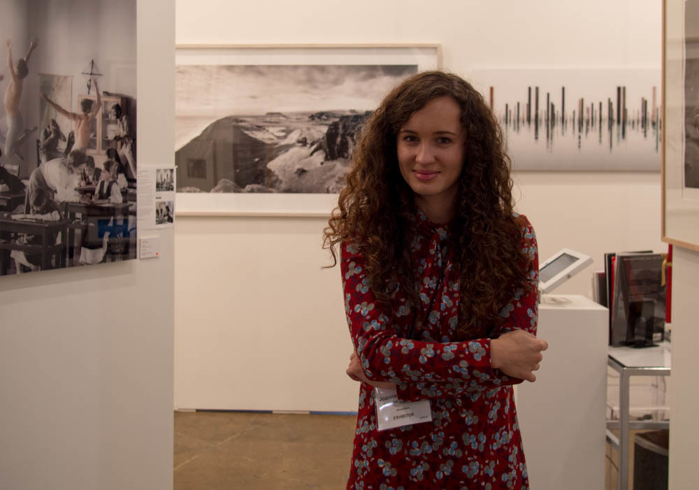 Joanna Wojewoda of Vision Gallery at Art Toronto 2014
