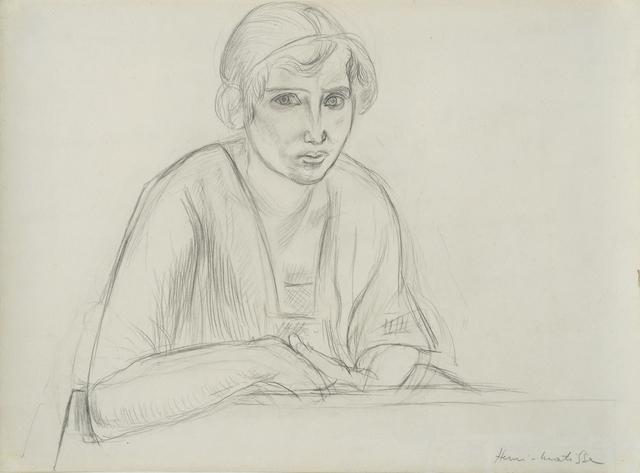 , 'Portrait de femme,' 1950, HDM Gallery