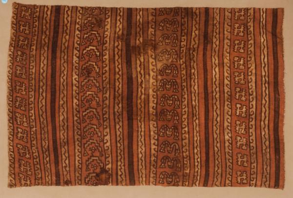 , 'Animal and Stripes Poncho Fragment,' 1000-1400, Muzeion Gallery