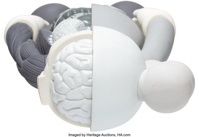 KAWS, 'Dissected Companion (Grey)', 2006, Sculpture, Painted cast vinyl, Heritage Auctions