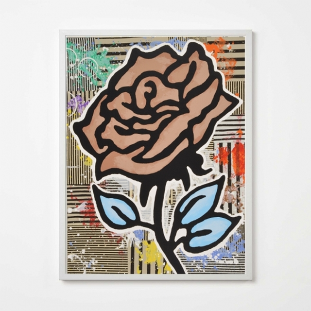Donald Baechler, 'Brown Rose', 2015, Weng Contemporary