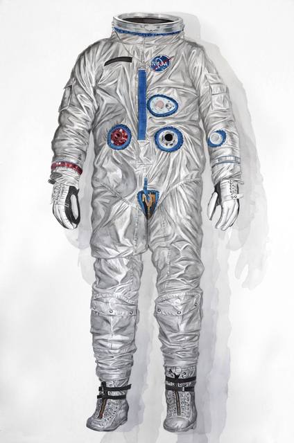 Thomas Broadbent, 'Silver Suit (Early Gemini Spacesuit)', 2018, Front Room Gallery